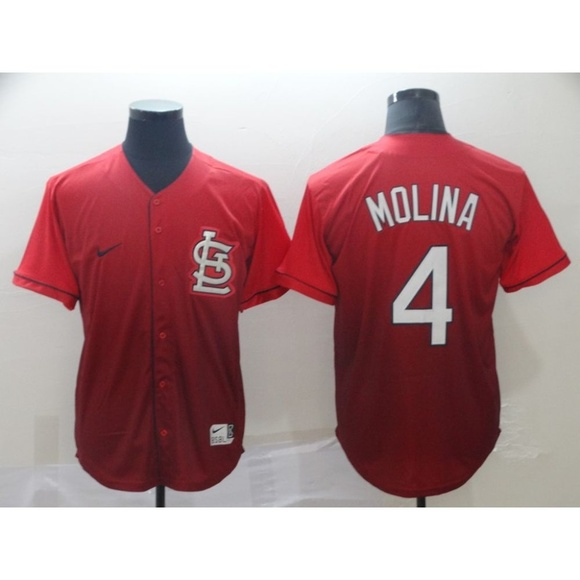 first rate fe08c 99003 St. Louis Cardinals Yadier Molina Jersey (2)